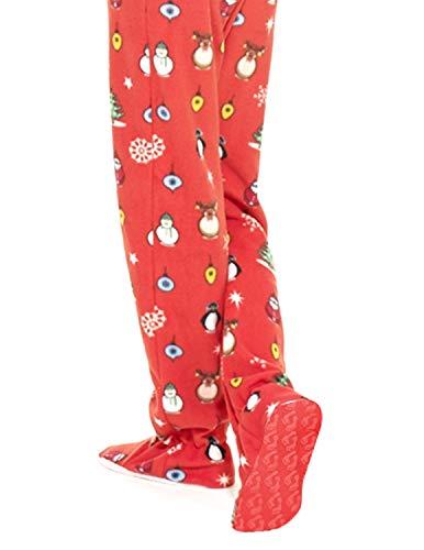 02c3d40f6ec0 Amazon.com  Footed Pajamas - Holly Jolly Christmas Infant Fleece ...