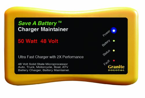 Granite Digital 2365-48 Battery Charger (Best 8v Golf Cart Batteries)
