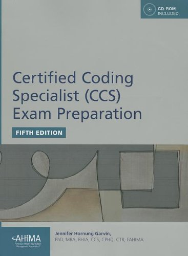 Certified Coding Specialist (CCS) Exam Preparation [With CDROM]