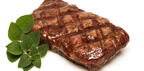 Certified Piedmontese - Four 8oz. Flat Iron Steak