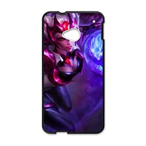 HTC One M7 Cell Phone Case Black League of Legends Ahri Popular Games image KOL1368992