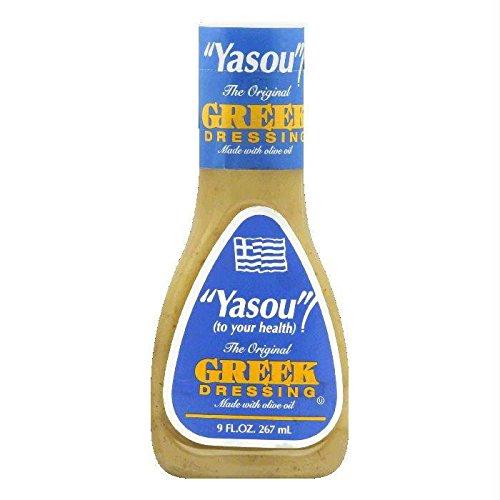 Yasou Greek Dressing (Case of 9)