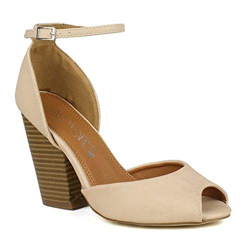 Bonnibel Debby 1 Women S Criss Cross Ankle Strap Wedge