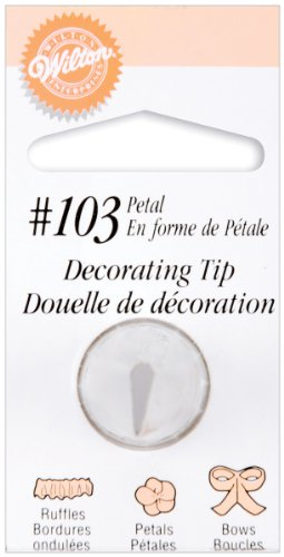 Wilton Petal (Decorating Tip-#103 Petal)