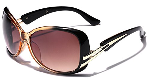 Butterfly Oversized Two Tone Women's Fashion - Sunglasses Designer Discount