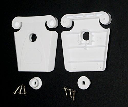 JSP Manufacturing 2 AFTERMARKET Igloo Cooler Hinge Latch Post & Screws (Part #24013)