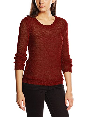Noos dried Felpa Tomato s Onlgeena Xo L Only Rosso Pullover sun Knt Donna YfYTqAxw