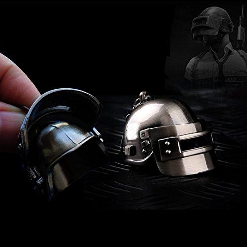 for Playerunknowns Battlegrounds PUBG Model Metal Level 3 Helmet Keychain