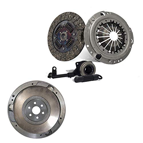 Flywheel Clutch Kit Slave Cylinder fits 2003-2007 Saturn ion 2.2L 2.4L Non self adjusting Version ()