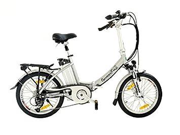 xgerman eléctrico de bicicleta plegable 20 pulgadas eturbo Comfort 7 g Shimano LCD, 250 W