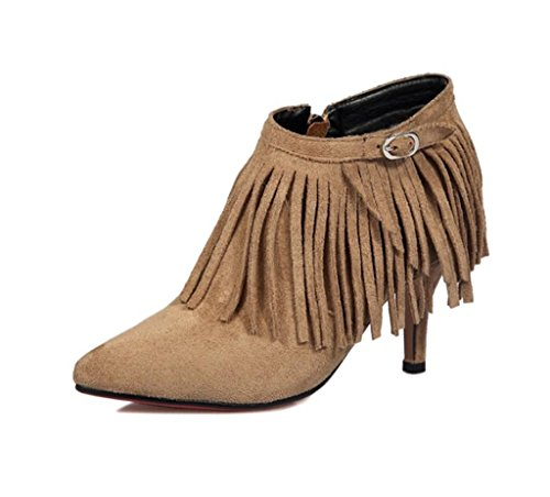 MNII New Ladies Women Party Wedding Suede Platform Pumps Strappy High Stiletto Heel Court Shoes Womens Day Gift for Her- Fashion shoes Yellow kSiIp997O