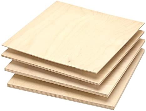 Single Piece Of Micro Thin Birch Plywood 1 16 X 12 X 24 1 Woodworking Project Kits Amazon Com