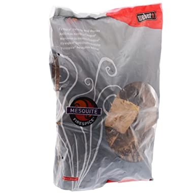 Weber 17106 Firespice Mesquite Wood Chunks, 5-Pound