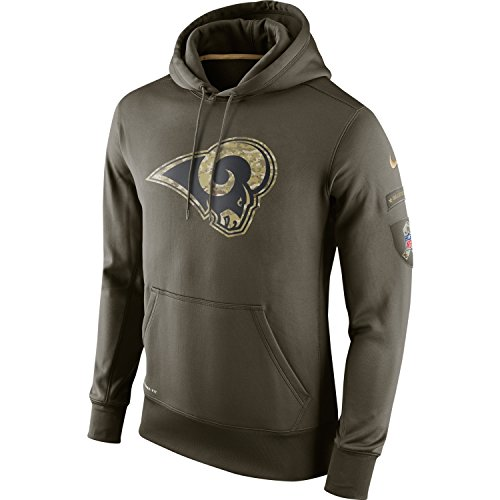 St. Louis Rams 2015 Nike NFL Salute to Service Limited Edition Hoodie Mens 3XL *Runs One Size Small* by NIKE