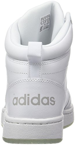 adidas Collo Bianco Mid Grey Footwear Super Two Uomo a Sneaker Hoops Footwear Alto CF White White rnUzYqwpr