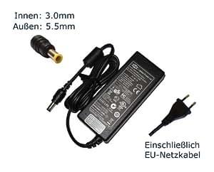 """Fuente de alimentación para Samsung NP-R60XY04 NP-X10plus NP-X120 I7P -230 NP-X120 I7P-230T NP-X120 I7P-230W cargador LCDs, cargador, Adaptador de CA, corriente eléctrica ({12} fuente, compatible-cable) - """"de alimentación"""" europeo"""