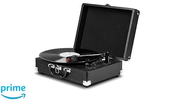 MEDION Life E64065 - Tocadiscos (Tocadiscos de tracción por ...
