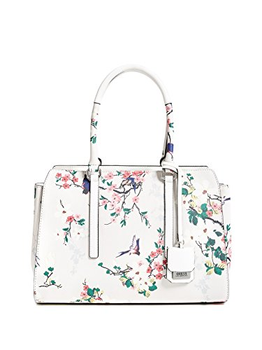 GUESS Factory Women's Out And About Floral Satchel