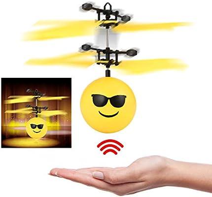Amazon.es: Oday - Pelota voladora de Juguete Volador con Mando a ...