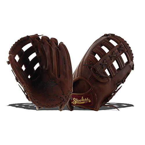 - Shoeless Joe Gloves Single Bar Pocket Brown Glove, 13-Inch, Right Handed