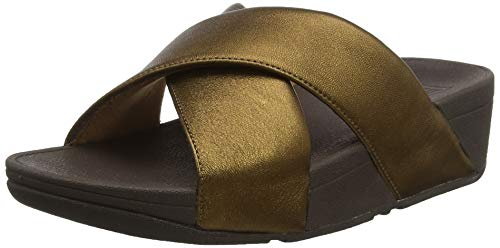 Cross Brown Lulu 012 Sandali bronze Slide Aperta Punta Fitflop A Donna 85wPax8qd