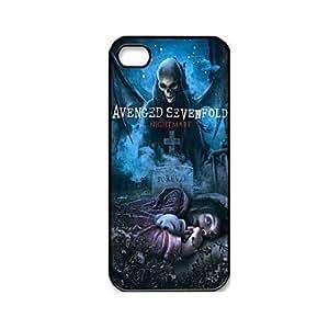 MOFY-Patr—n Mœsica y Banda de Serie Avenged Sevenfold pl‡stico duro caso para iPhone 5/5S