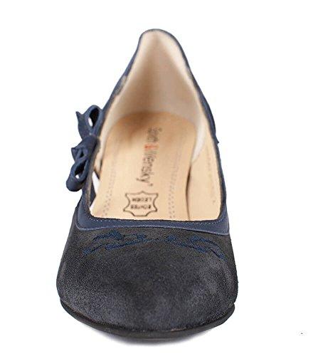 Spieth & Wensky Az_d443valeskapumpsnavy - Zapatos de vestir para mujer azul azul marino One Size