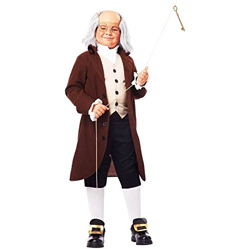 Colonial Man Ben Franklin Child Costume