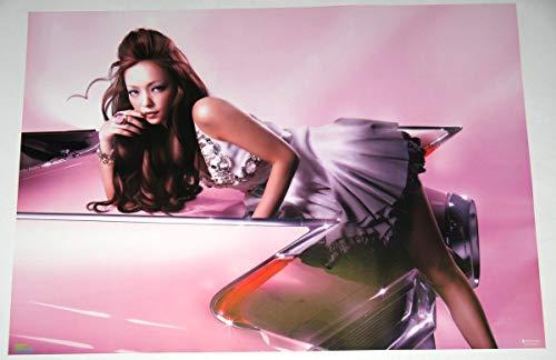 タワレコ特典 B2ポスター 安室奈美恵 BEST FICTION ベスト ポスターサイズ 728mm×515mm