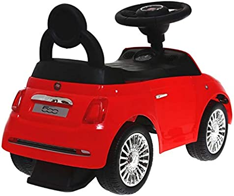 Baby Mix Fiat 500 antideslizante Auto hz620 (Rojo): Amazon.es: Bebé