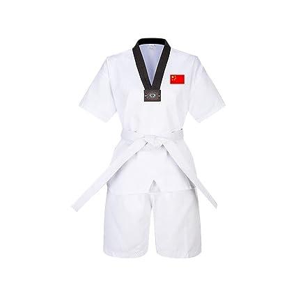 Yiliankeji Adulto Niño Hombre Dobok Taekwondo Kimono Traje ...