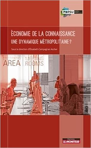 En ligne téléchargement gratuit Économie de la connaissance - Une dynamique métropolitaine ? epub pdf
