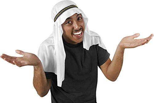 Rubies Arabian Sheik Sheppard Mantle Hat O/S