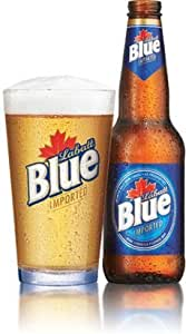 2 Pair of Labatt Blue Vintage Beer Glass