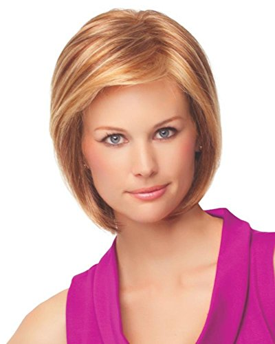 Price comparison product image G29+ Paradox Short Bob Lace Front Monofilament Wig by Eva Gabor