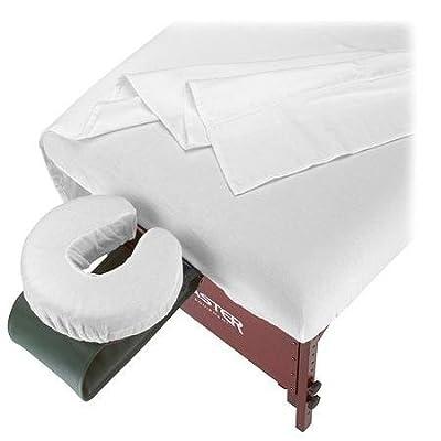 Master Massage SpaMaster Essentials 3-Piece Cotton Flannel Sheet Set