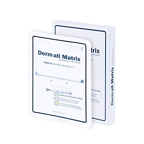DERMALL MATRIX Epidermal Detoxifying Mask(4sheets)