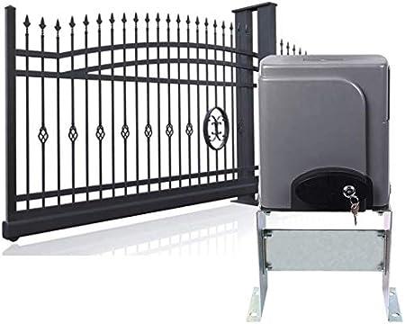 ZGYQGOO Abridor Puerta corredera 600KG Control Remoto eléctrico Puerta Deslizante 40 pies Motor Puerta Deslizante Apertura automática: Amazon.es: Hogar