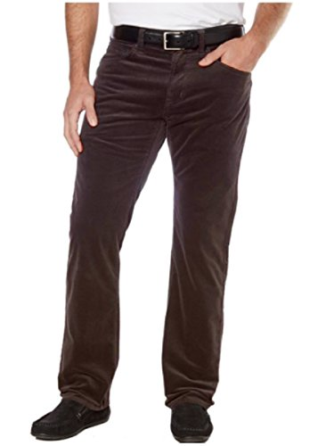 - Kirkland Signature Men's 5-Pocket Corduroy Pant (44W 30L, Chocolate)