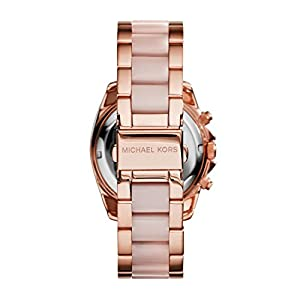 Michael Kors Blair Chronograph Stainless Steel Watch with Glitz Accents