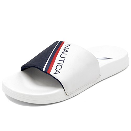 b472a4a44e42f Nautica Women's Athletic Slide, Shower Shoe,Beach Sandal, Boat Slide
