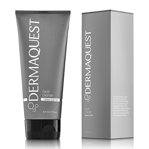 DermaQuest Stem Cell 3D Anti-aging Foaming Cleanser and Makeup Remover, 6 fl. oz.