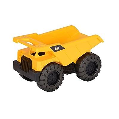 Toy State Caterpillar CAT Tough Tracks Construction Crew Dump Truck: Toys & Games