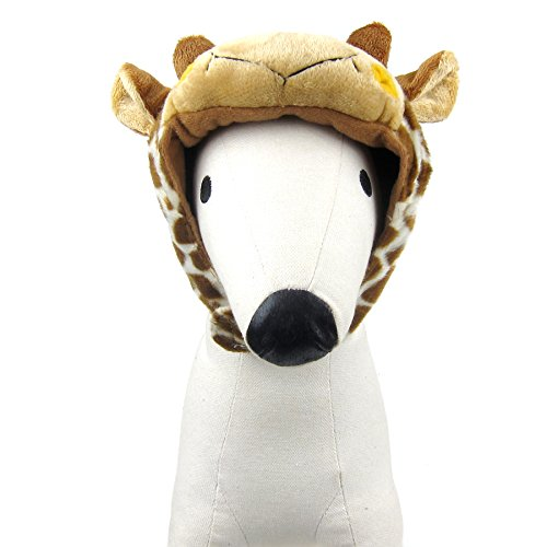 Alfie Pet by Petoga Couture - Aspen Hat for Party Halloween Special Events Costume (for Small Dogs & Cats) - Pattern: Giraffe, Size: (Giraffe Costume Chihuahua)