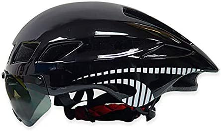 KUVV Perfecto Bicycle Helmet Removable Goggles For Women Men
