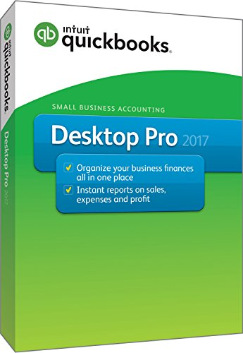 QuickBooks Desktop Pro 2017 Small Business Accounting Software [Old Version]