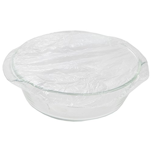 Clear Bowl Cover - Trenton Gifts Set of 12 Clear Food Storage Covers | Six 15