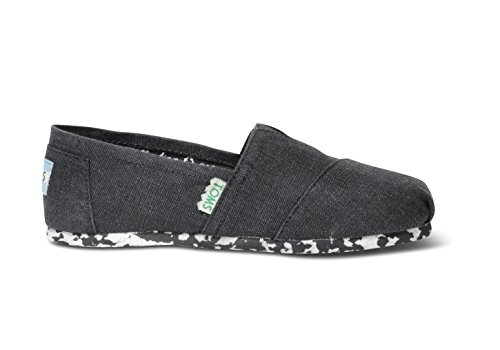 Toms Youth PLUSfoam Earthwise Classics Shoe Black Size 13.5