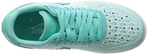 Nike Kvinder W Af1 Flyknit Lav Sneakers Turkis 32rbzK9Ei