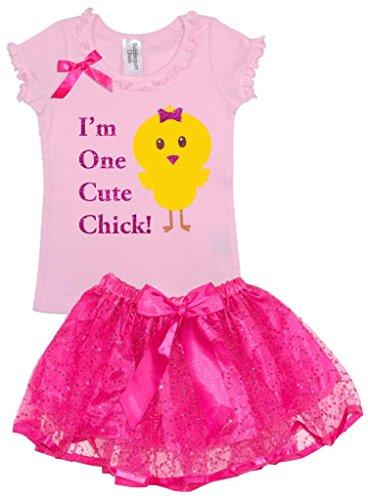 Bubblegum Divas Little Girls Baby Chicken Farm Animals Zo...